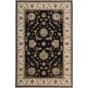 "Nourison Legend 5'6"" x 8'6"" Midnight Area Rug - Item Number: 09633"
