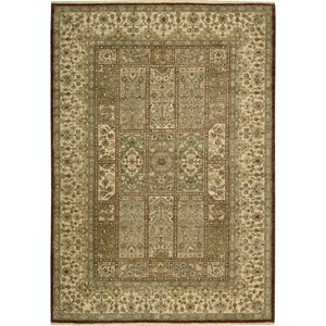 "Nourison Legend 5'6"" x 8'6"" Multicolor Area Rug"