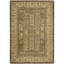 "Nourison Legend 5'6"" x 8'6"" Multicolor Area Rug - Item Number: 09678"