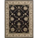 "Nourison Legend 8'6"" x 11'6"" Midnight Area Rug - Item Number: 09795"