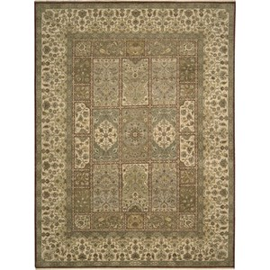 "Nourison Legend 8'6"" x 11'6"" Multicolor Area Rug"