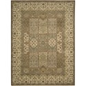 "Nourison Legend 8'6"" x 11'6"" Multicolor Area Rug - Item Number: 09849"