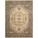 "Nourison Legend 8'6"" x 11'6"" Beige Area Rug - Item Number: 09858"
