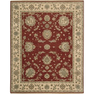 "Nourison Legend 9'9"" x 13'9"" Red Area Rug"