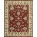 "Nourison Legend 9'9"" x 13'9"" Red Area Rug - Item Number: 09885"