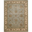 "Nourison Legend 9'9"" x 13'9"" Aqua Area Rug - Item Number: 09912"