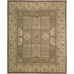 "Nourison Legend 9'9"" x 13'9"" Multicolor Area Rug"