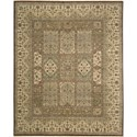 "Nourison Legend 9'9"" x 13'9"" Multicolor Area Rug - Item Number: 09921"