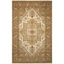 "Nourison Legend 5'6"" x 8'6"" Beige Rectangle Rug - Item Number: LD01 BGE 56X86"