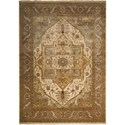 "Nourison Legend 9'9"" x 13'9"" Beige Rectangle Rug - Item Number: LD01 BGE 99X139"