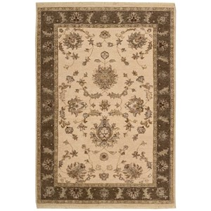 "Nourison Legend 3'9"" x 5'9"" Beige Rectangle Rug"