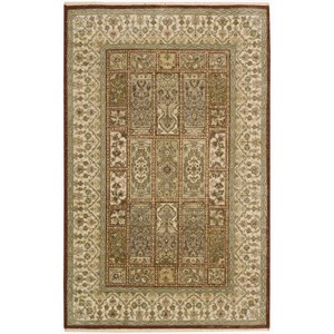"Nourison Legend 3'9"" x 5'9"" Multicolor Rectangle Rug"