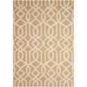 Nourison Linear 8' x 11' Sand/Ivory Rectangle Rug - Item Number: LIN05 SNDIV 8X11