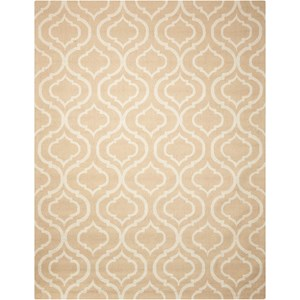 Nourison Linear 5' x 7' Beige Rectangle Rug