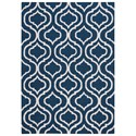 Nourison Linear 5' x 7' Navy Rectangle Rug - Item Number: LIN15 NAV 5X7