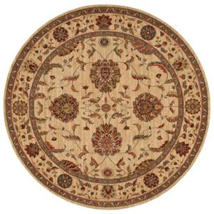 "Nourison Living Treasures Area Rug 5'10"" X 5'10"""