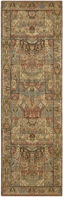 "Nourison Living Treasures Area Rug 2'6"" X 8' - Item Number: 66848"