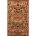 "Nourison Living Treasures 2'6"" x 4'3"" Multicolor Rectangle Rug - Item Number: LI02 MTC 26X43"