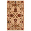 "Nourison Living Treasures 2'6"" x 4'3"" Ivory Rectangle Rug - Item Number: LI04 IV 26X43"