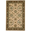 "Nourison Living Treasures 3'6"" x 5'6"" Beige Rectangle Rug - Item Number: LI05 BGE 36X56"