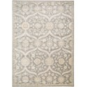 "Nourison Luminance 3'5"" x 5'5"" Ironstone Area Rug - Item Number: 19422"