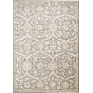 "Nourison Luminance 9'3"" x 12'9"" Ironstone Area Rug"
