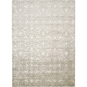 "Nourison Luminance 9'3"" x 12'9"" Steel Area Rug"