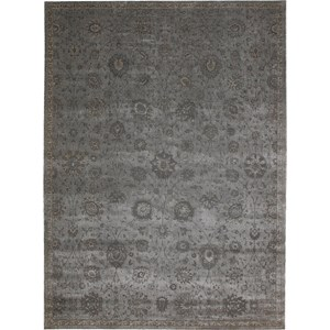 "Nourison Luminance 7'6"" x 10'6"" Graphite Area Rug"
