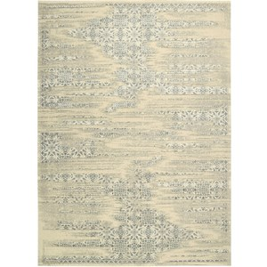 "Nourison Luminance 9'3"" x 12'9"" Bone Area Rug"