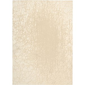 "Nourison Luminance 9'3"" x 12'9"" Cream Area Rug"