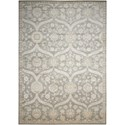 "Nourison Luminance 7'6"" x 10'6"" Ironstone Rectangle Rug - Item Number: LUM04 IRONS 76X106"