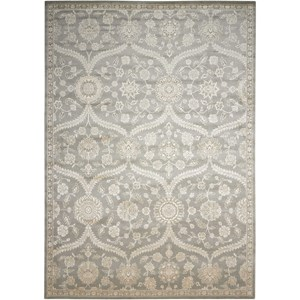 "Nourison Luminance 9'3"" x 12'9"" Ironstone Rectangle Rug"