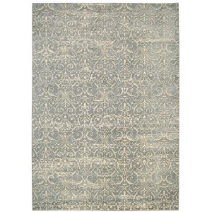 "Nourison Luminance 3'5"" x 5'5"" Cobalt Rectangle Rug"