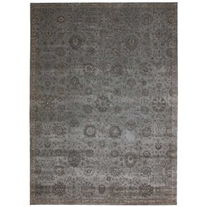 "Nourison Luminance 9'3"" x 12'9"" Graphite Rectangle Rug"