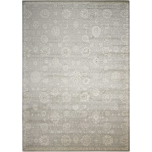 "Nourison Luminance 7'6"" x 10'6"" Ironstone Rectangle Rug"
