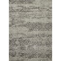"Nourison Luminance 3'5"" x 5'5"" Ivory/Black Rectangle Rug - Item Number: LUM11 IVBLK 35X55"