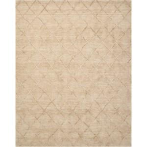 "Nourison Lunette 5' x 7'6"" Sand Rectangle Rug"