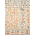 "Nourison Madera 6'6"" X 9'6"" Ivory Rug - Item Number: MAD05 IVORY 66X96"