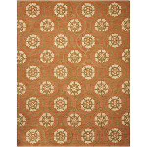 "Nourison Marina 8' x 10'6"" Persimmon Rectangle Rug"