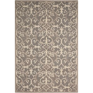 "Nourison Marina 8' x 10'6"" Silver Rectangle Rug"