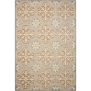 "Nourison Marina 8' x 10'6"" Grey Rectangle Rug"