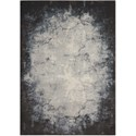 "Nourison Maxell 3'10"" X 5'10"" Iv/Grey Rug - Item Number: MAE01 IVGRY 310X510"