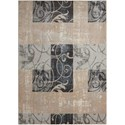 """Nourison Maxell 3'10"""" X 5'10"""" Multicolor Rug - Item Number: MAE03 MULTI 310X510"""