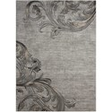"Nourison Maxell 5'3"" X 7'3"" Graphite Rug - Item Number: MAE05 GRAPH 53X73"