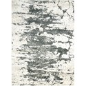 """Nourison Maxell 3'10"""" X 5'10"""" Iv/Grey Rug - Item Number: MAE07 IVGRY 310X510"""