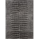 """Nourison Maxell 5'3"""" X 7'3"""" Charcoal Rug - Item Number: MAE09 CHARC 53X73"""
