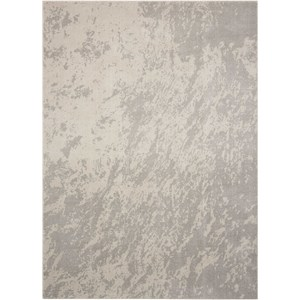 "Nourison Maxell 7'10"" X 10'6"" Ivory/Grey              Rug"