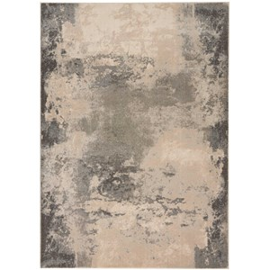 "Nourison Maxell 5'3"" X 7'3"" Ivory/Grey Rug"