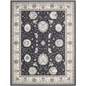 "Nourison Maymana 7'10"" x 10'10"" Charcoal Area Rug - Item Number: 28088"