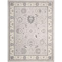"Nourison Maymana 7'10"" x 10'10"" Silver Area Rug - Item Number: 28102"